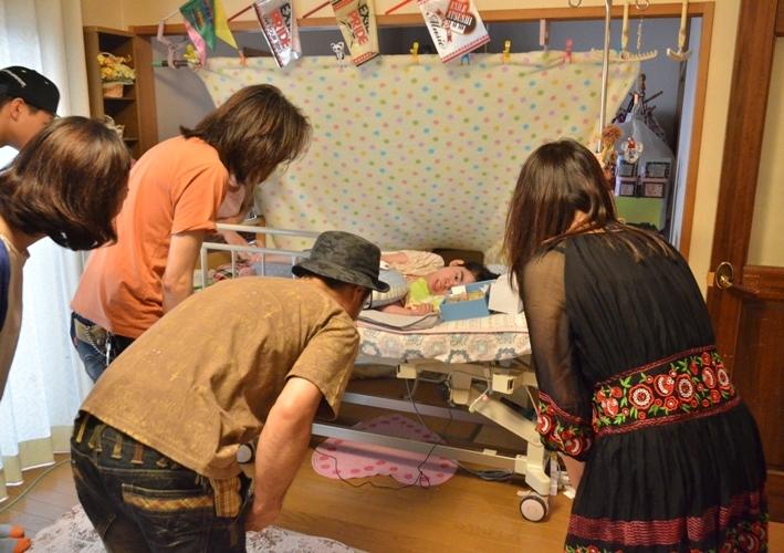 7月5日、七夕コンサート@Misakiちゃん宅♪_e0188087_13334920.jpg