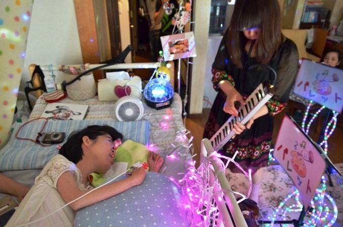7月5日、七夕コンサート@Misakiちゃん宅♪_e0188087_1334167.jpg
