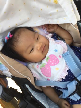 3ヶ月の赤ちゃんのお出まし〜〜!_c0131063_21444745.jpg