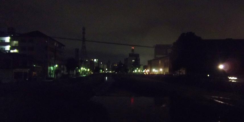 盛岡の夜(上ノ橋から)_f0326895_2029574.jpg