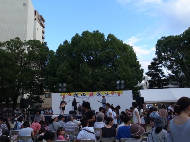 第1回鹿田夏祭り@大供公園_f0197703_18065835.jpg