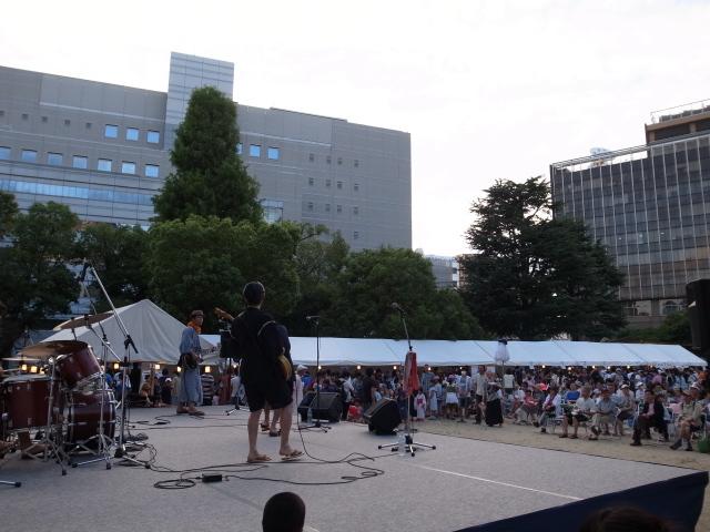 第1回鹿田夏祭り@大供公園_f0197703_18101027.jpg