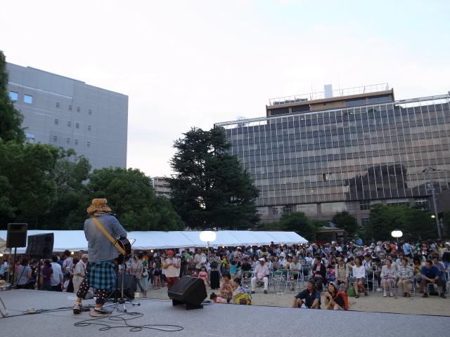 第1回鹿田夏祭り@大供公園_f0197703_18130577.jpg
