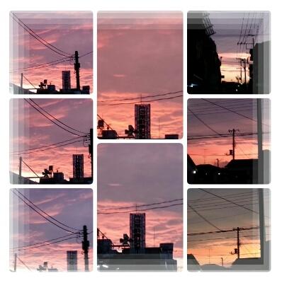 今日の夕景~♪_d0219834_19582796.jpg