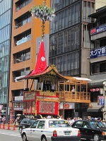 暑い中、祇園祭りに_a0298652_1238254.jpg