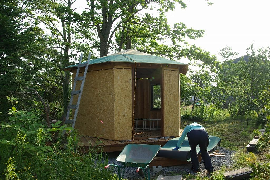 小屋作り・屋根面倒くさい編_a0107184_10144214.jpg
