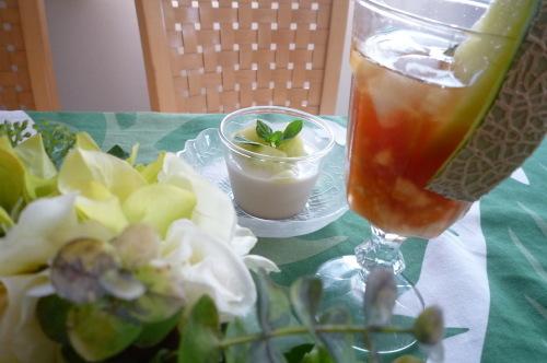 メロンと紅茶_c0332287_16330304.jpg