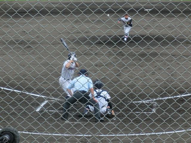 富士市立高校野球部 「残念!」早すぎる敗退_f0141310_6521484.jpg