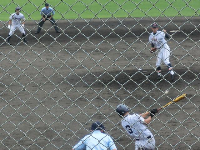 富士市立高校野球部 「残念!」早すぎる敗退_f0141310_6531443.jpg