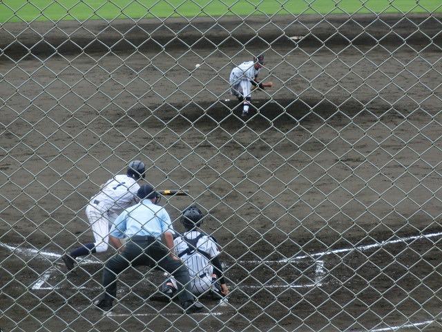 富士市立高校野球部 「残念!」早すぎる敗退_f0141310_6532460.jpg