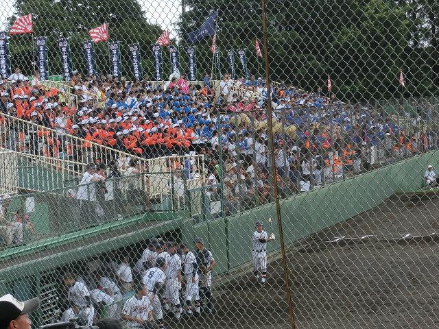 富士市立高校野球部 「残念!」早すぎる敗退_f0141310_6533810.jpg