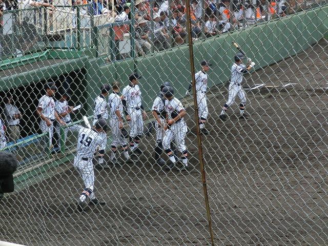 富士市立高校野球部 「残念!」早すぎる敗退_f0141310_6534717.jpg