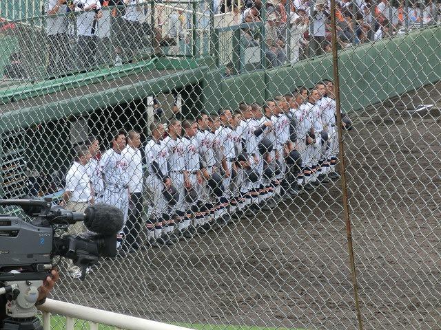 富士市立高校野球部 「残念!」早すぎる敗退_f0141310_6542537.jpg