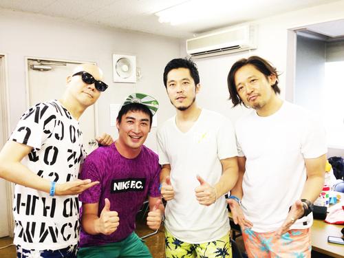 @natsu_sld  #夏びらき でRHYMESTER:ライムスターのお三方と!感激♬ →_b0032617_18293770.jpg