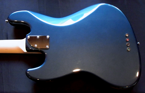 「Suomi Blue MetallicのStandard-J 1本目」が完成です! _e0053731_15472961.jpg