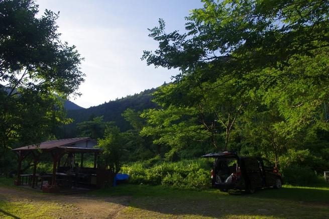 天気予報は雨模様~白の平オートキャンプ場(1日目)_c0113733_2348332.jpg