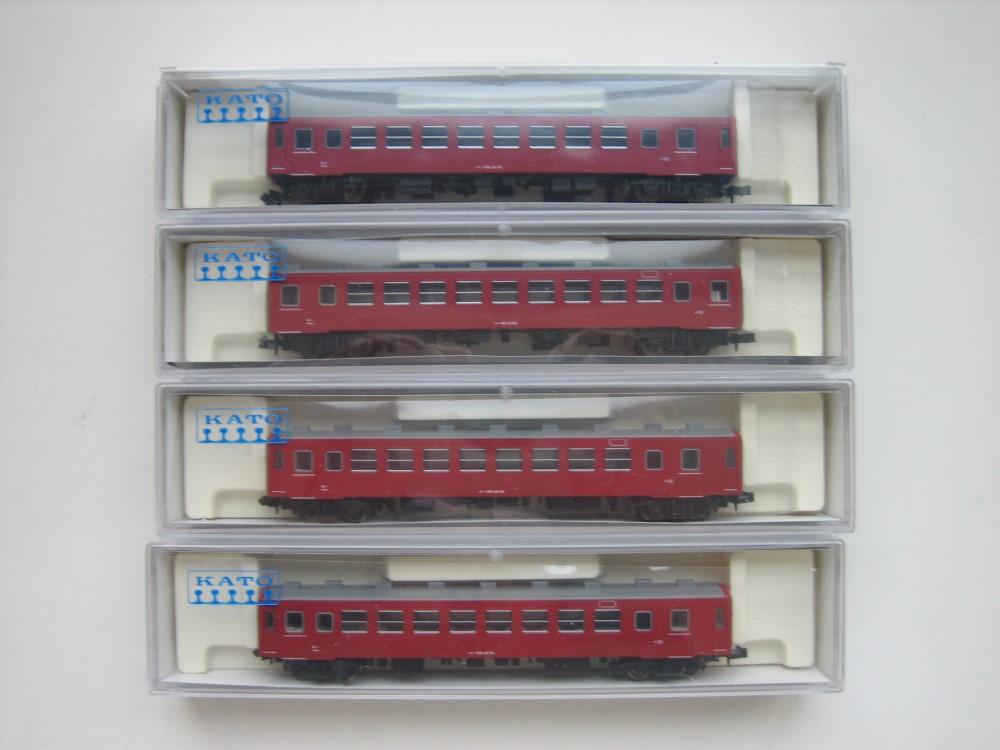 KATO 50系客車追加入線&青春18きっぷ_e0120143_2250286.jpg
