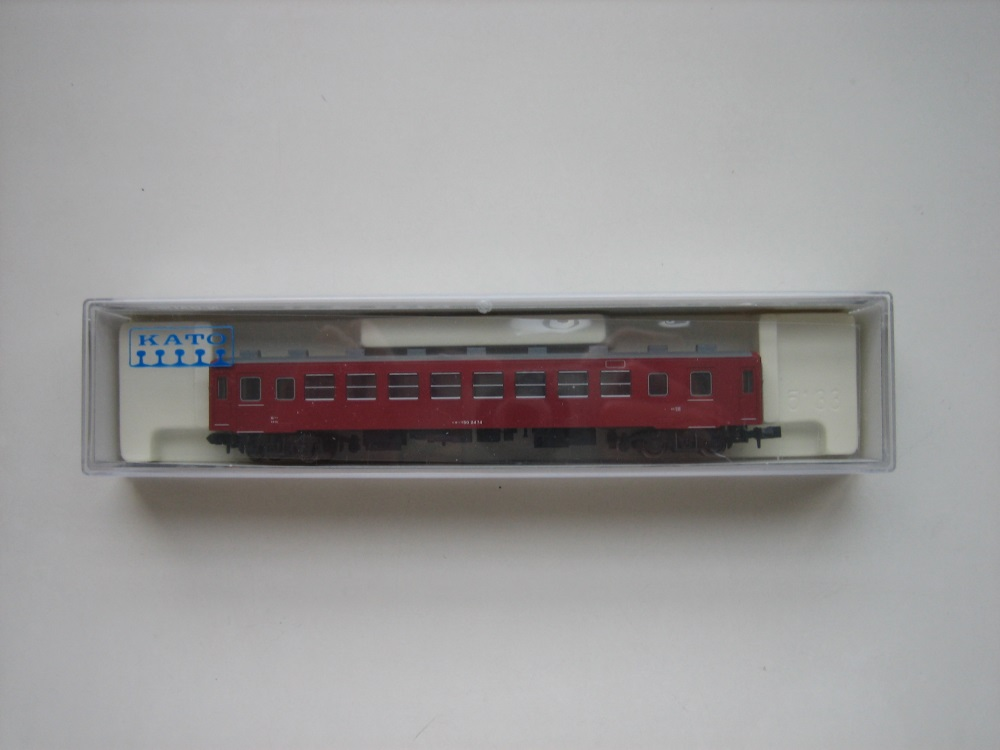 KATO 50系客車追加入線&青春18きっぷ_e0120143_22505473.jpg