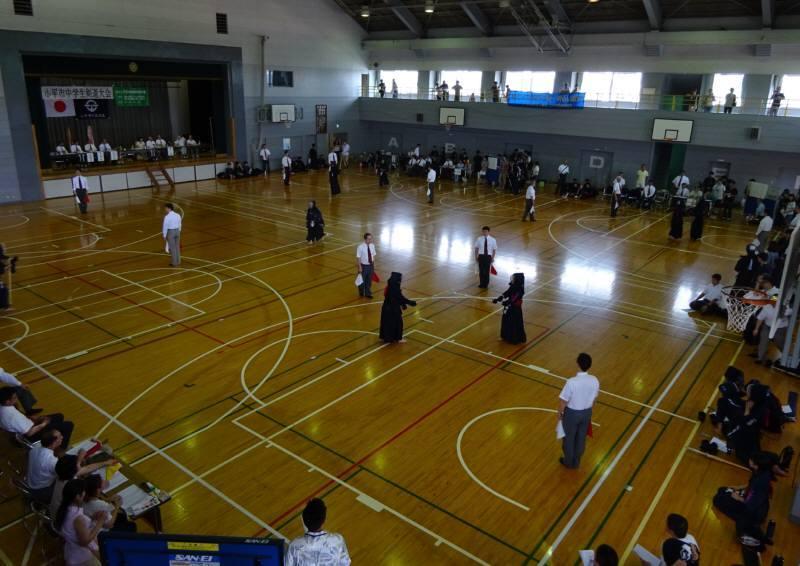 第54回小平市中学生剣道大会_f0059673_23102601.jpg