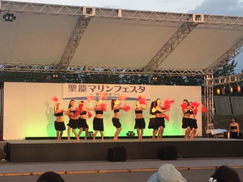 踊ってきました✨聖籠マリンフェスタ①_d0256587_00345354.jpg
