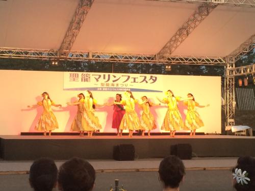 踊ってきました✨聖籠マリンフェスタ①_d0256587_00345401.jpg