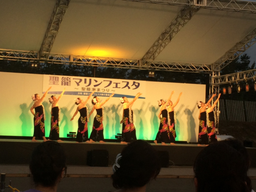 踊ってきました✨聖籠マリンフェスタ①_d0256587_00345433.jpg