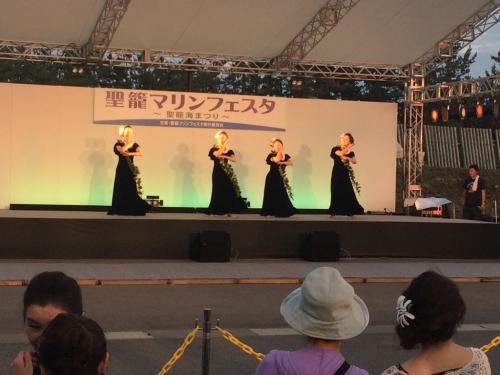 踊ってきました✨聖籠マリンフェスタ①_d0256587_00345480.jpg