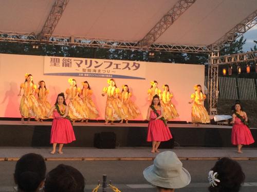 踊ってきました✨聖籠マリンフェスタ①_d0256587_00345533.jpg
