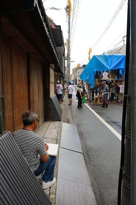 祇園祭2015 後祭・山鉾建て 其の一_f0032011_19342537.jpg