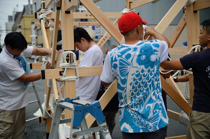 祇園祭2015 後祭・山鉾建て 其の一_f0032011_19452550.jpg