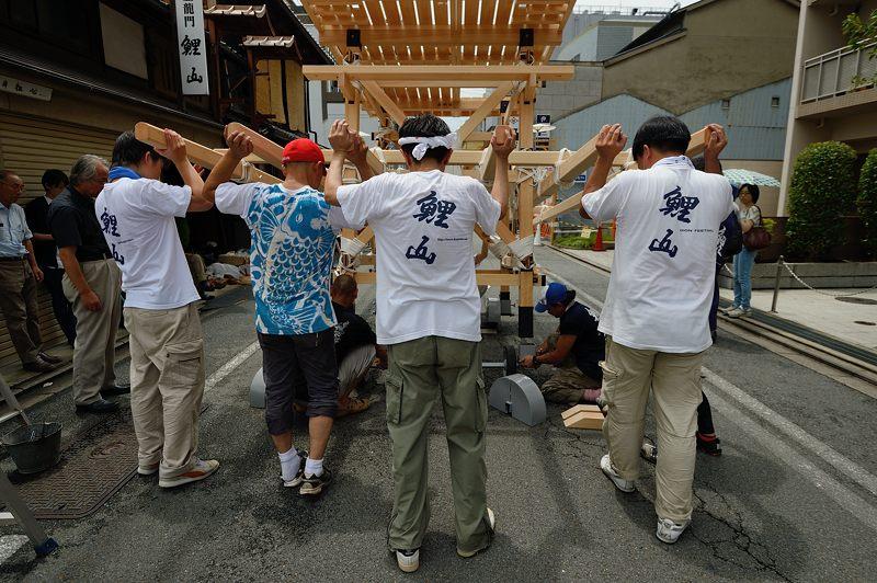祇園祭2015 後祭・山鉾建て 其の一_f0032011_1945465.jpg