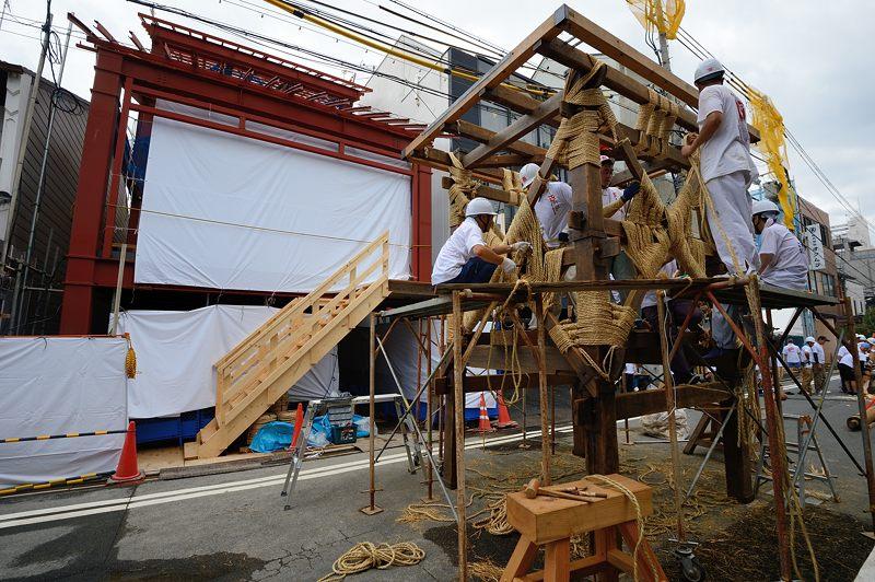 祇園祭2015 後祭・山鉾建て 其の二_f0032011_22233878.jpg