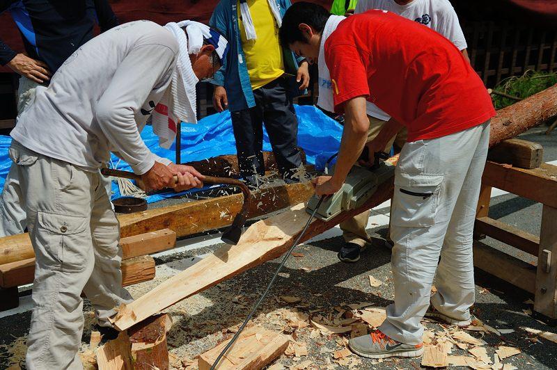 祇園祭2015 後祭・山鉾建て 其の二_f0032011_22252357.jpg