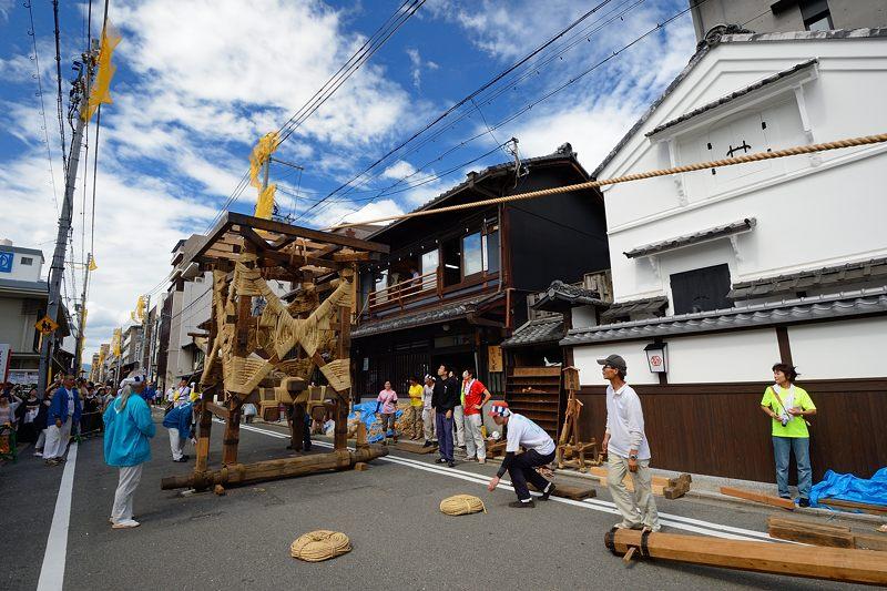 祇園祭2015 後祭・山鉾建て 其の二_f0032011_22262039.jpg