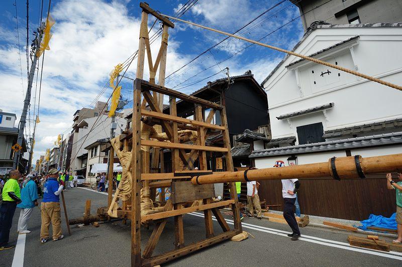 祇園祭2015 後祭・山鉾建て 其の二_f0032011_22273399.jpg