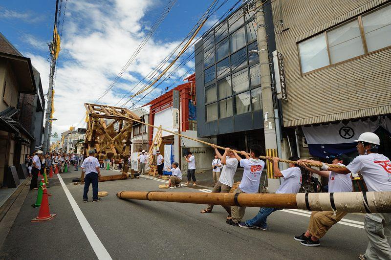 祇園祭2015 後祭・山鉾建て 其の二_f0032011_2228120.jpg