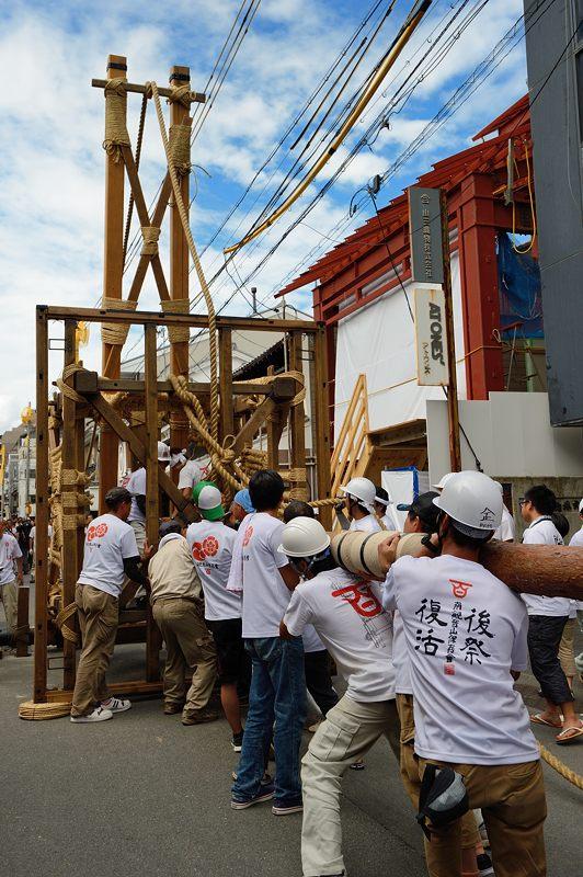 祇園祭2015 後祭・山鉾建て 其の二_f0032011_22281638.jpg