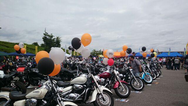 バイクde夏祭り 行って来ました☆_a0169121_17175890.jpg