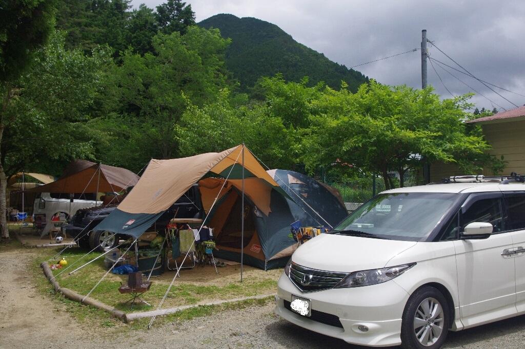 天気予報は雨模様~白の平オートキャンプ場(2日目)_c0113733_2337895.jpg