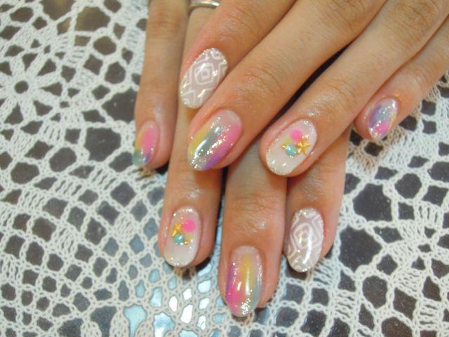 Marble Nail_a0239065_14553449.jpg