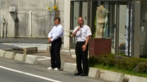 2015. 7.20 勿来・田人地区 街頭演説_a0255967_1058728.jpg