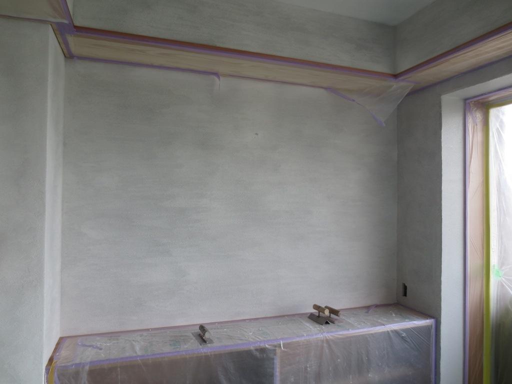 弦巻の家改修 砂漆喰塗り_c0310571_09381121.jpg