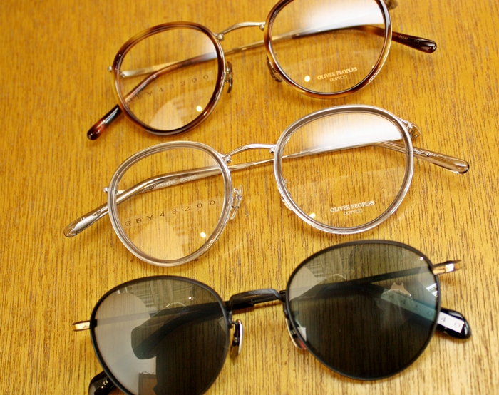 「OLIVER PEOPLES WATERSTON、BLACKTHORNE」_f0208675_20102625.jpg