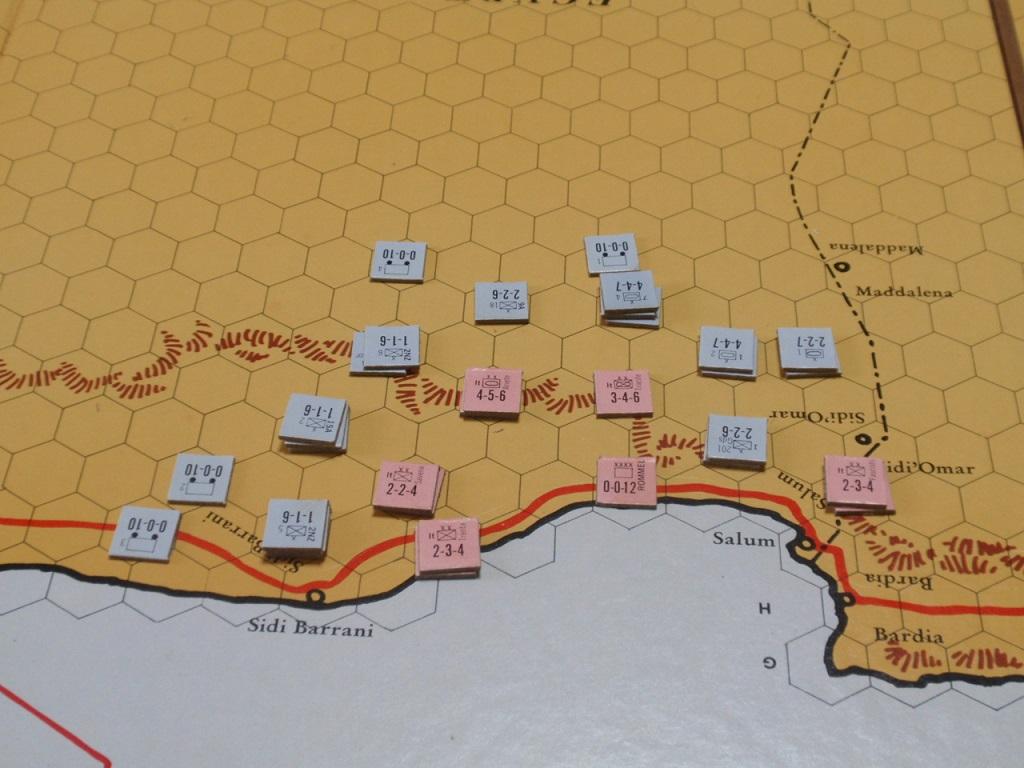 AH「Afrika Korps(ドイツアフリカ軍団)」を対戦_b0162202_18394616.jpg