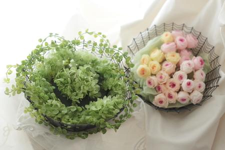 ゲスト参加で作るリングピロー 八芳園さまへ、そして海外へ_a0042928_1152818.jpg