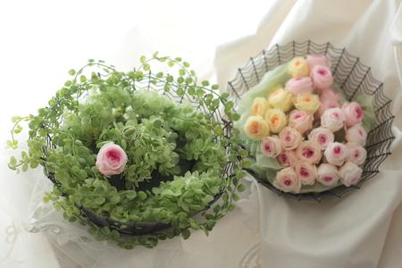 ゲスト参加で作るリングピロー 八芳園さまへ、そして海外へ_a0042928_1154418.jpg