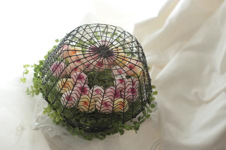 ゲスト参加で作るリングピロー 八芳園さまへ、そして海外へ_a0042928_1155533.jpg
