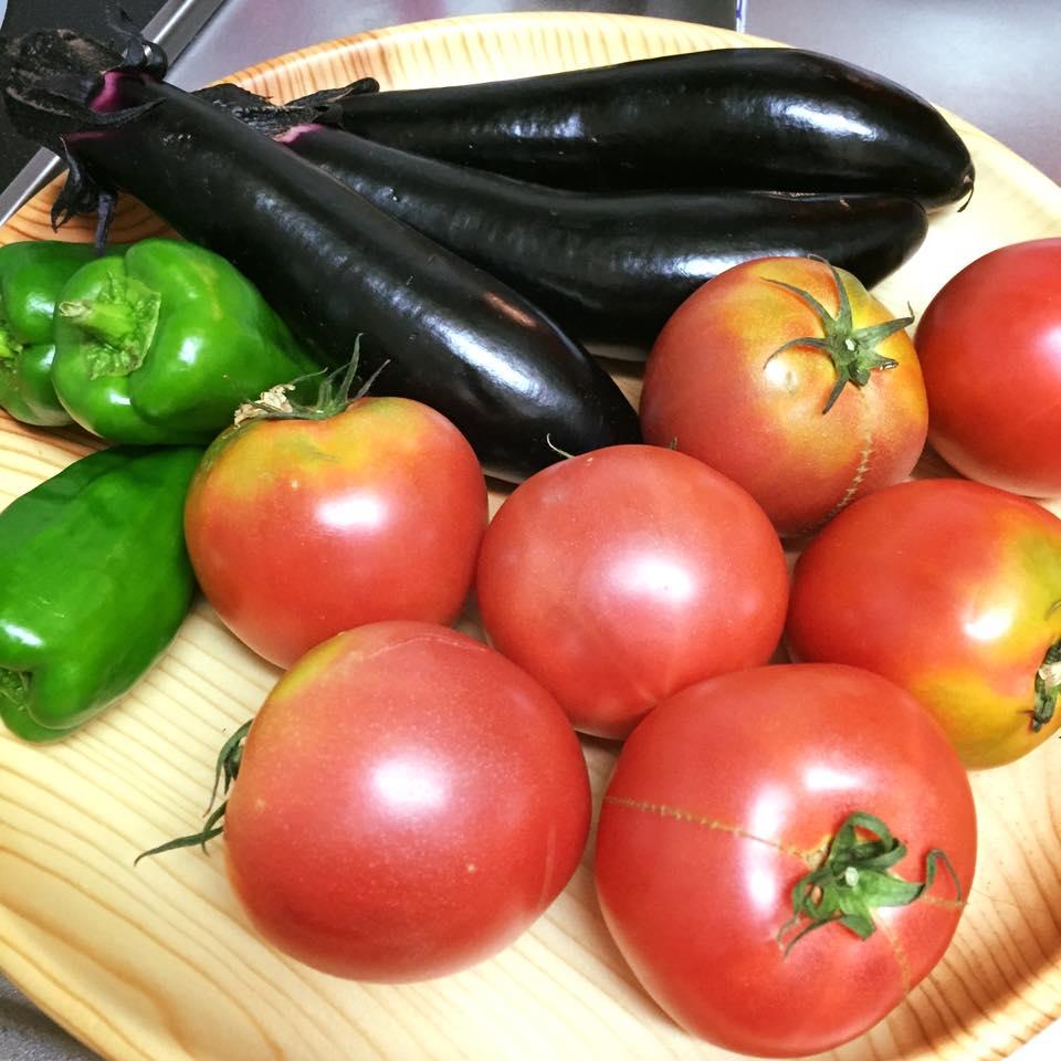 旧都南村・旧玉山村の美味しい野菜を頂きました!_b0199244_1912684.jpg