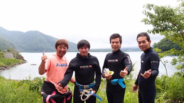 富士山の麓!本栖湖体験ダイビング!_a0226058_13251558.jpg