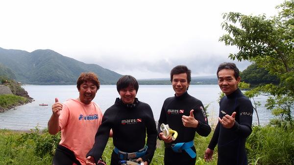 富士山の麓!本栖湖体験ダイビング!_a0226058_13543592.jpg